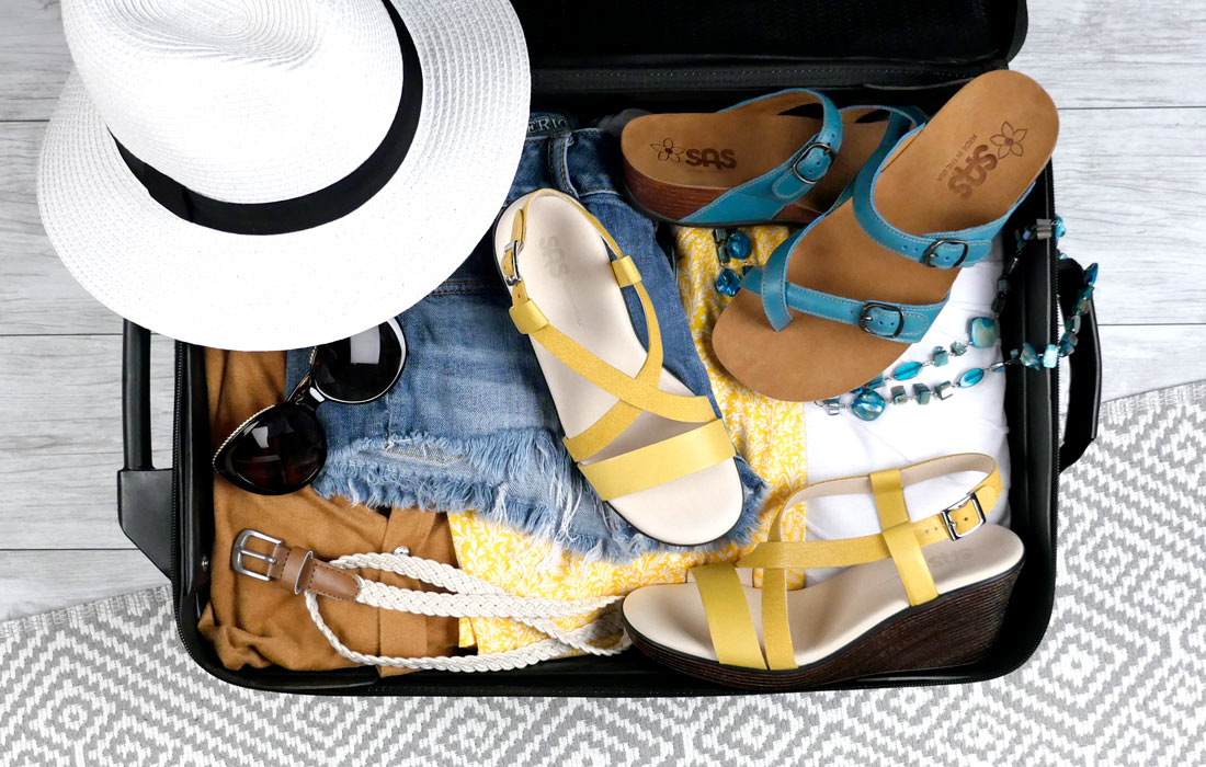 Travel Hack- the Best Shoes to Pack for Your Trip