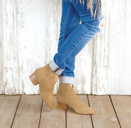 Dylan suede ankle boots